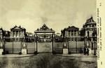 Versailles - Grille d'honneur et façade principale