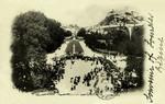 Lourdes - Vue de l'Esplanade avant la Procession