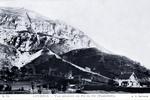 Lourdes - Vue générale du Pic de Jer (Funiculaire)