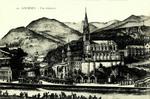 Lourdes - Vue générale