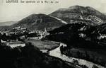 Lourdes - Vue générale et le Pic du Jer