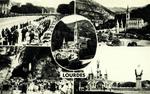 Lourdes - La Basilique et la Grotte