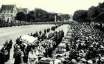 Lourdes - Bénédiction des malades sur l'Esplanade