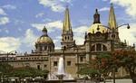 Mexico – Guadalajara – Detras de Catedral