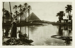 Egypt –  Cairo, Flood Time near Pyramids
