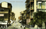 Egypt –  Port Said, Commerce Street