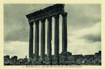 Lebanon – Baalbek (Syrie). – Les 6 dernières colonnes des 54 du Temple de Jupiter