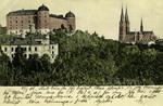 Sweden –  Upsala, Slottet och Domkyrkan