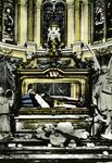 Lisieux - Châsse de Sainte Thérèse de l'enfant-Jésus au Carmel de Lisieux