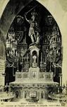 Mont Saint-Michel - Interieur de l'Eglise paroissiale, la Chapelle Saint-Michel