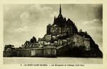Mont St-Michel - Les Remparts et l'Abbaye (Côté Est)