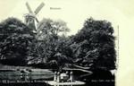 Bremen – Wallparthie mit Windmühle