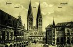 Bremen – Rathaus - Dom - Börse - Marktplatz