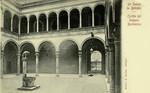 Bologna – Cortile del Palazzo Bevilacqua