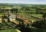 Certosa di Pavia – 24 Cellette dall'aereo
