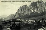 Cortina d'Ampezzo – (1219 m) gegen Pomagagnon (2441 m) und Seekofel