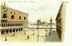 Venice – Piazzetta, le due colonne e isola di S. Giorgio