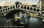 Venice – Ponte di Rialto e gondola