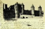 Carcassonne - Le Château, Entrée Principale