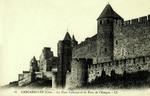 Carcassonne (Cité) - La Tour Cahuzac et la Tour de l'Evéque