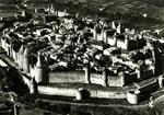 Carcassonne (Aude) - Vue d'ensemble de la Cité