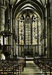 Carcassonne (Aude) - Cathédrale St-Nazaire, Nef Centrale