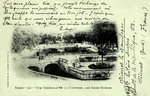Nimes - Vue Générale de la Fontaine, les Bains Romain