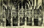 Albi - Cathédrale d'Albi - Le Jubé