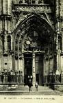 Nantes - La Cathédrale - Porte de droite