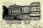 Angers - Place du Rallement - La Poste