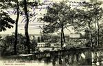 Sablé - Vue de la Terrasse italienne du Jardin de la Ville