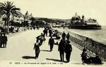 Nice - La Promenade des Anglais et le Jetée