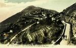 La Turbie - Vue générale prise de la route du Mont-Agel