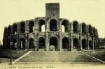 Arles - Vue extérieure des Arènes