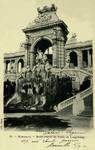 Marseille - Motif central du Palais de Longchamp