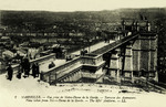 Marseille - Vue prise de Notre-Dame de la Garde - Terrasse des Ascenseurs