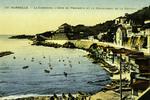Marseille - La Corniche, l'Anse du Prophète et le Restaurant de la Réserve