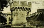 Avignon - Allées de Verdun - La Tour Ronde des Remparts