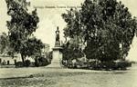 Argentina – Santiago, Alameda, Estatua Buenos Aires