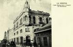 Chile - La Serena - Calle Balmaceda y Cuartel de Bomberos