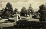 Chile - Santiago - Plaza Yungay y Estatua del Roto Chileno