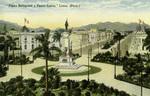 Peru - Lima - Plaza Bolognesi y Paseo Colon