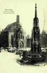 Nuremberg – Schöner Brunnen mit Frauenkirche