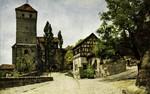 Nuremberg – Tiefer Brunnen und Eingang zur Burg
