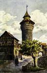 Nuremberg – Vestnerturm und Tiefer Brunnen
