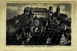 Nuremberg – Burg von Süden