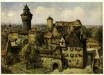 Nuremberg – Kaiserburg mit Sinwellturm