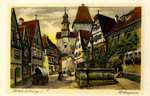 Rothenburg ob der Tauber – Rödergasse