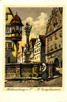 Rothenburg ob der Tauber – St. Georgsbrunnen