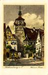 Rothenburg ob der Tauber – Weisser Turm